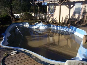 pool-filled
